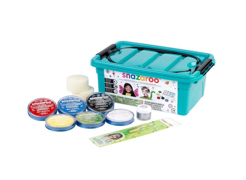 Ansiktsmålningsset Snazaroo Mini Starter kit