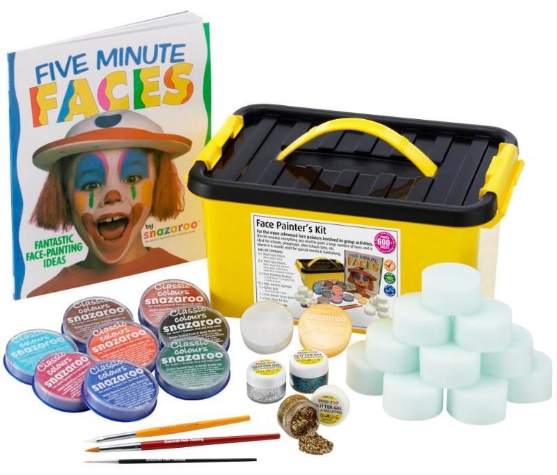 Ansiktsmålningsset Snazaroo Face Painters kit