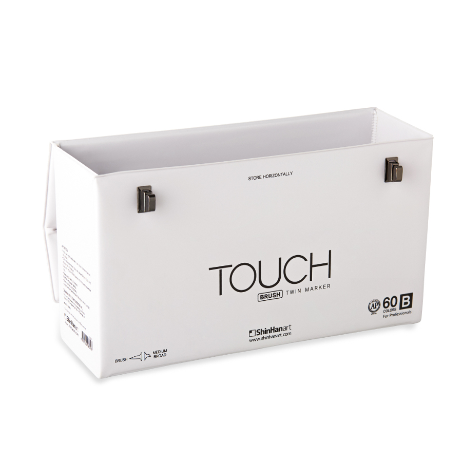 Touch Twin Brush Empty Case 60