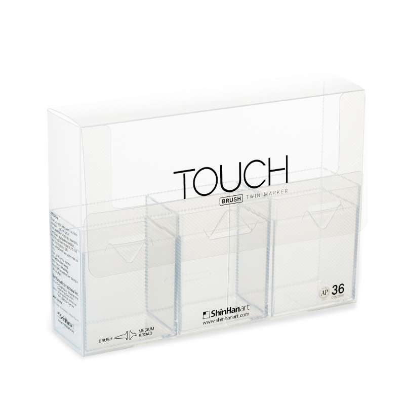 Touch Twin Brush Empty Case 36