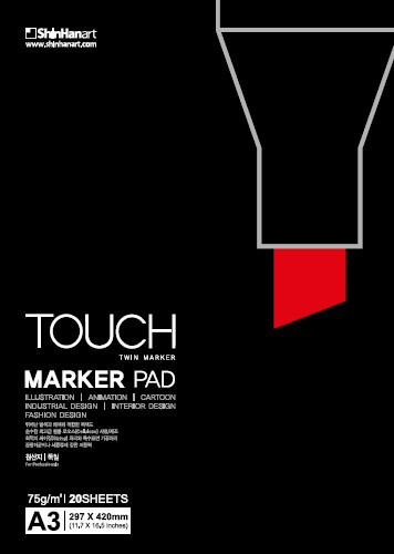 Markerblock Touch marker pad A4 75g 20ark