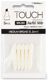 Touch Brush Marker Nib 5 Medium Broad