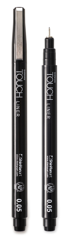 Fineliner Touch Liner 0.05mm (12F)