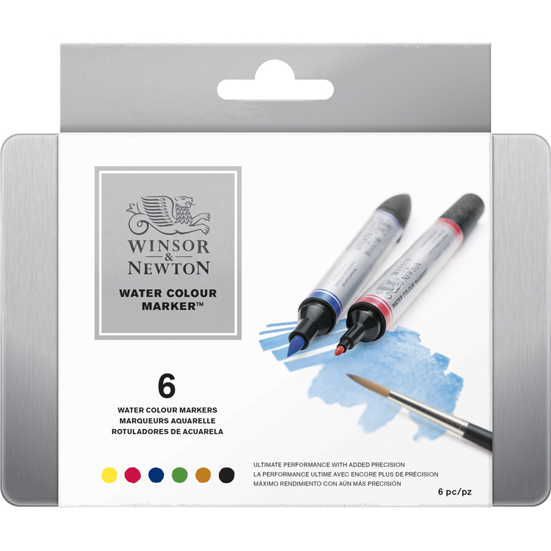 Akvarellmarker set Cotman Watercolour marker set 6