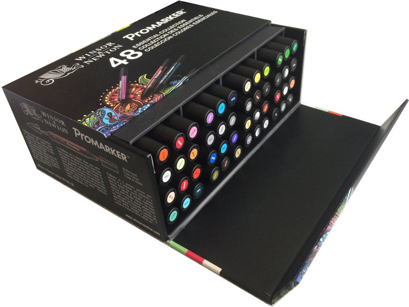 "Promarkerset Winsor & Newton 48 ""Essential Collection"" Box"