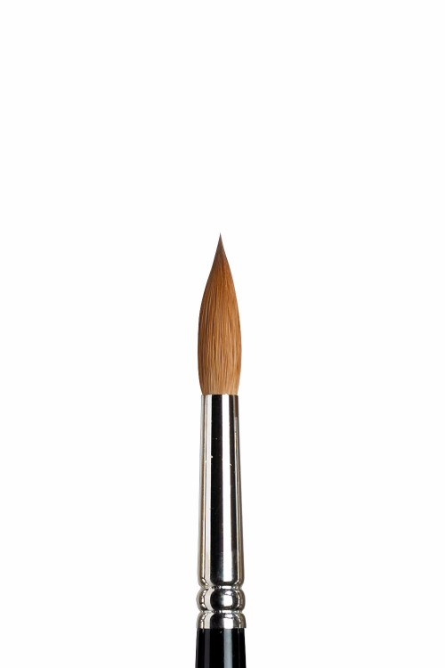 Tillf. ur produktion Mårdhårspensel Winsor & Newton Serie 7 St 9 diam 6mm, längd 27 mm