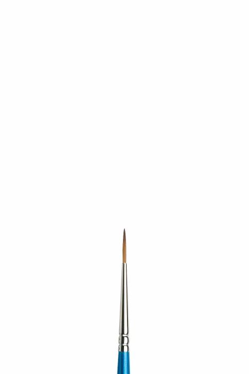 Syntetpensel Cotman S222 Rund lång borst St 0 diam 1,2 mm (3F)