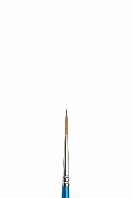 Syntetpensel Cotman S222 Rund lång borst St 2 diam 1,8 mm (3F)
