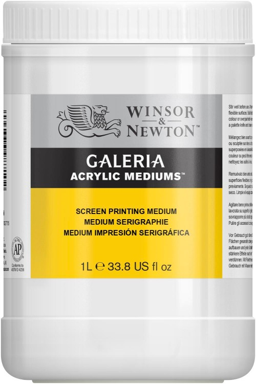 Akrylmedium Galeria Screentrycksmedium 1l / Screen Printing medium
