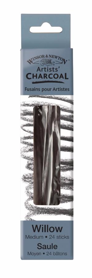 Ritkol Winsor & Newton Willow charcoal medium 24 st