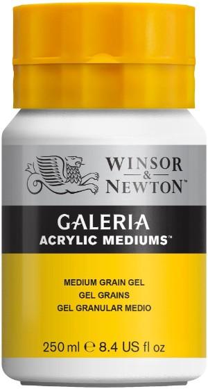 Akrylmedium Galeria Texturgel medel 250 ml Medium Grain Gel