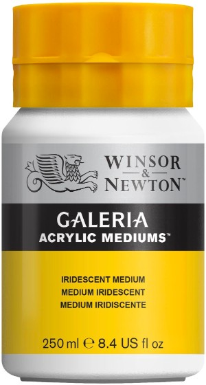Akrylmedium Galeria Skimrande medium 250 ml Iridescent Medium