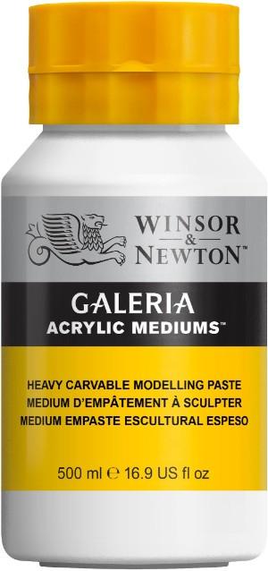 Akrylmedium Galeria Skulpturpasta 500 ml  Heavy Carvable Modelling Paste