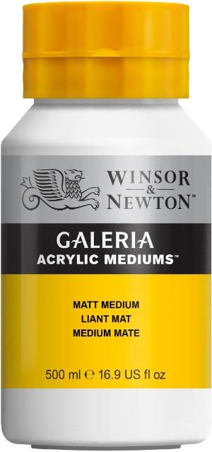 Akrylmedium Galeria Matt medium 500 ml