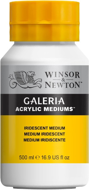 Akrylmedium Galeria Skimrande medium 500 ml Iridescent Medium