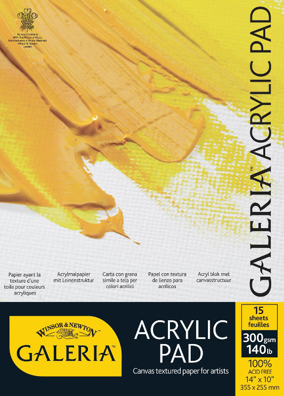 Akrylblock Galeria 300g A4 (3F) 15ark