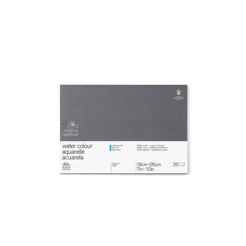 Akvarellblock Winsor & Newton Premium Cold Press 300g 23x31cm 20ark