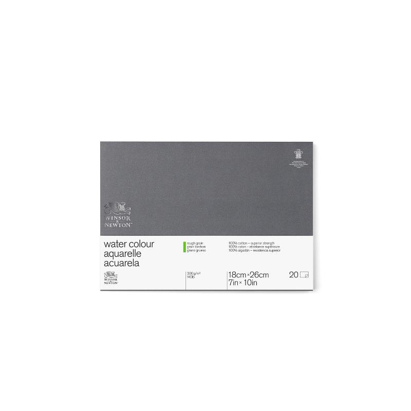 Akvarellblock Winsor & Newton Premium Rough 300g 18x26cm 20ark
