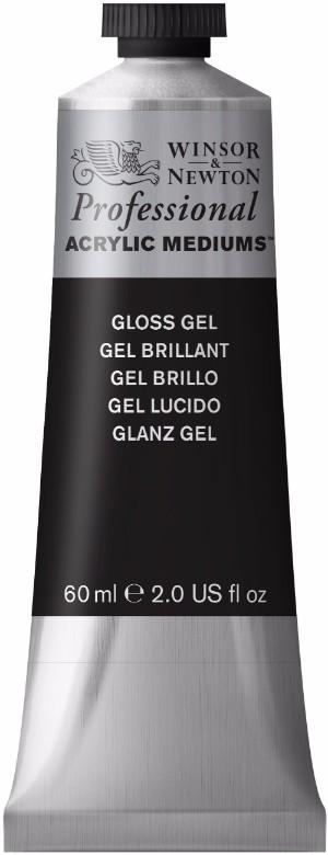 Akrylmedium Winsor & Newton Prof. AA Gloss Gel 60 ml (3F)