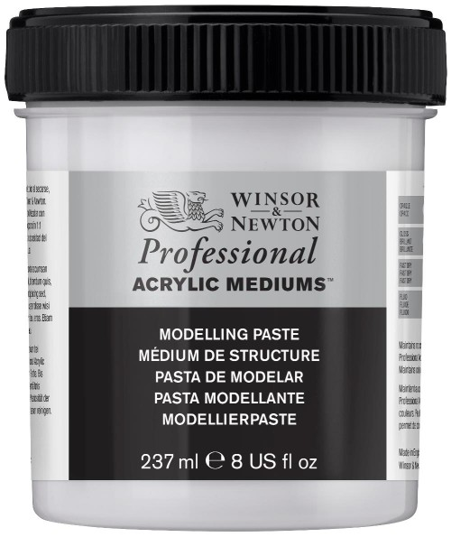 Akrylmedium Winsor & Newton Prof. AA Modelling paste 237 ml