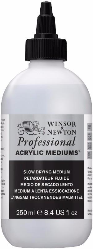Akrylmedium Winsor & Newton Prof. AA Slow Drying Medium 250 ml