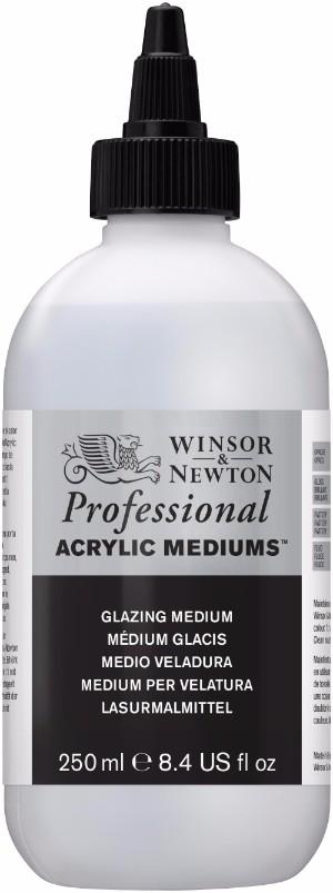 Akrylmedium Winsor & Newton Prof. AA Glazing Medium 250 ml