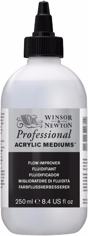 Akrylmedium Winsor & Newton Prof. AA Flow Improver 250 ml