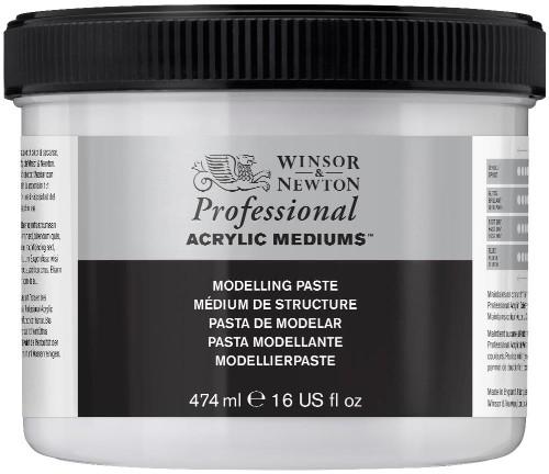 Akrylmedium Winsor & Newton Prof. AA Modelling paste 474 ml