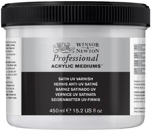 Fernissa Winsor & Newton Prof. AA Satin UV Varnish 450 ml