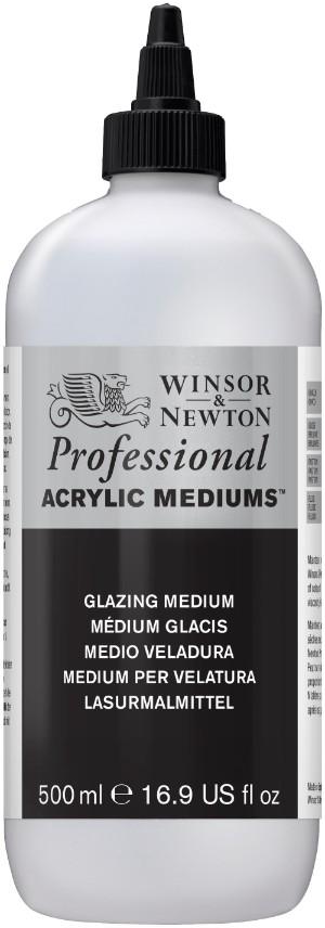 Akrylmedium Winsor & Newton Prof. AA Glazing Medium 500 ml