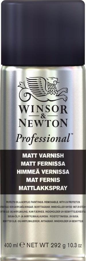 Fernissa Winsor & Newton Art picture matt varnish 400 ml (6F)