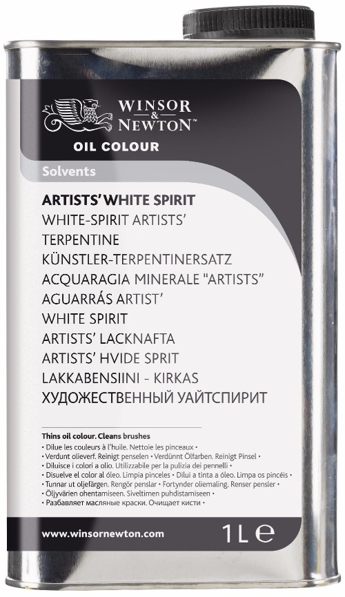Oljemedium Winsor & Newton Artists' White Spirit 1 L