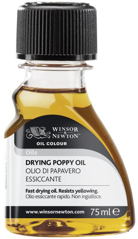Oljemedium Winsor & Newton Drying Poppy Oil 75 ml (3F)