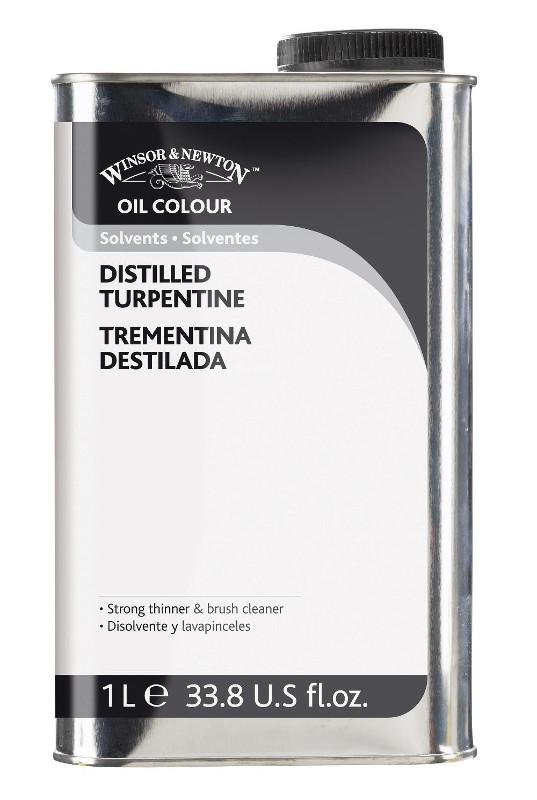 Oljemedium Winsor & Newton Distilled Turpentine 1 L