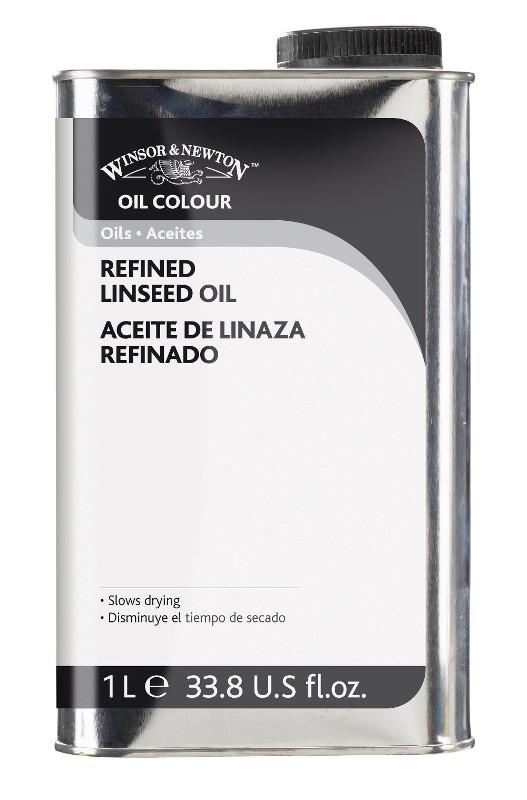 Oljemedium Winsor & Newton Linseed Oil Refined 1 L