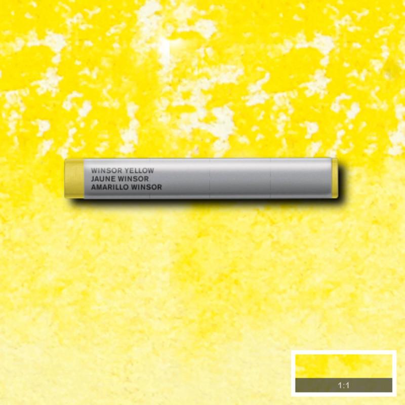 Akvarellkrita Winsor & Newton Prof.  Winsor Yellow 730 (3F) S1