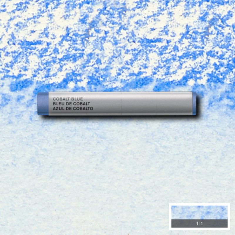 Akvarellkrita Winsor & Newton Prof.  Cobalt Blue 178 (3F) S4 Utgår
