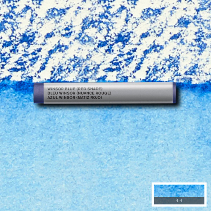 Akvarellkrita Winsor & Newton Prof.  Winsor Blue Red Shade 709 (3F) S1
