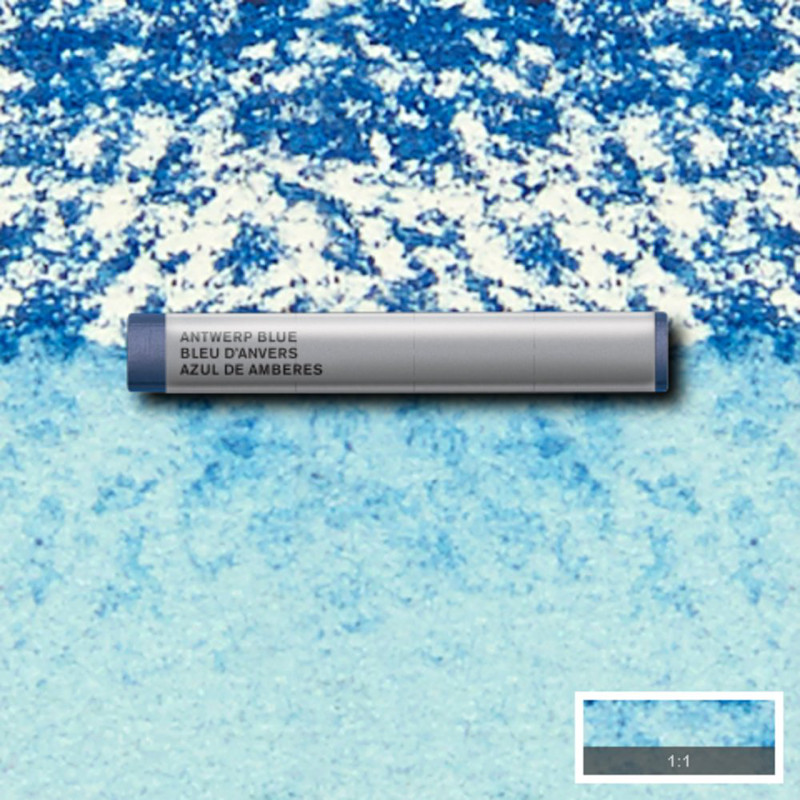 Akvarellkrita Winsor & Newton Prof.  Antwerp Blue 010 (3F) S1