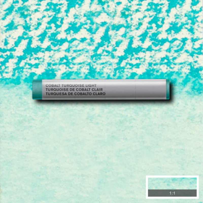 Akvarellkrita Winsor & Newton Prof.  Cobalt Turquoise Light 191 (3F) S4 Utgår