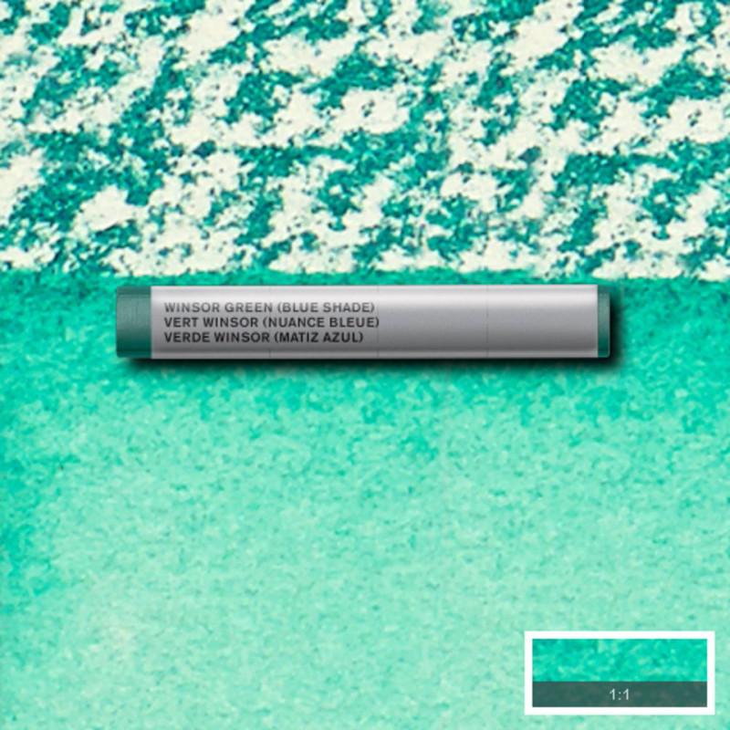 Akvarellkrita Winsor & Newton Prof.  Winsor Green Bue Shade 719 (3F) S1