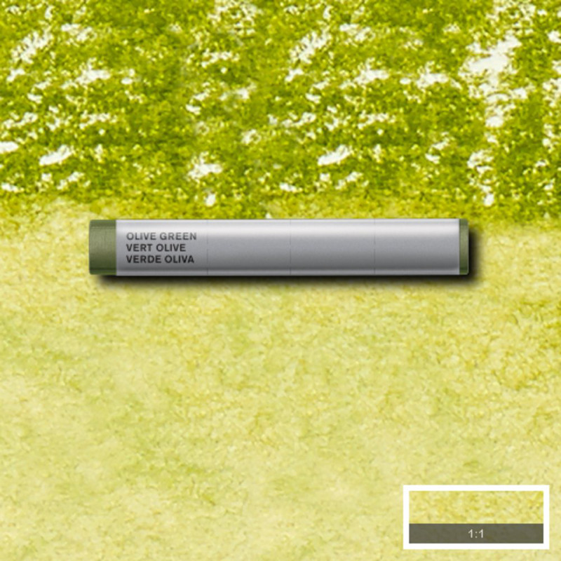 Akvarellkrita Winsor & Newton Prof.  Olive Green 447 (3F) S1