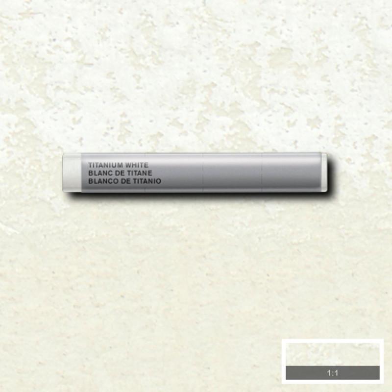 Akvarellkrita Winsor & Newton Prof.  Titanium White 644 (3F) S1