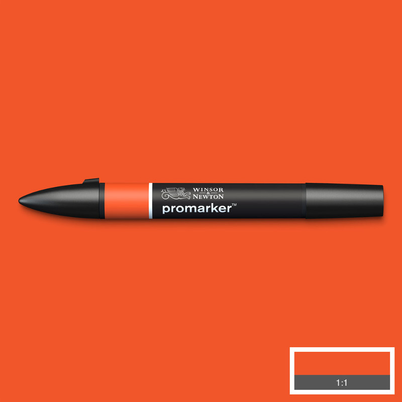 Promarker Winsor & Newton Bright Orange (O177)