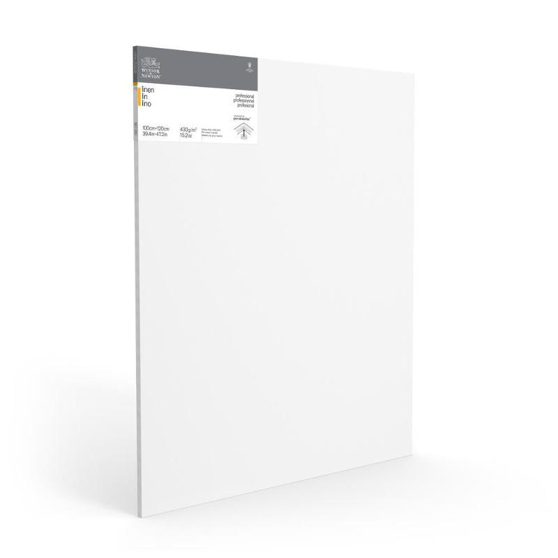 Duk uppspänd W&N Linne 100X120X2,1cm  (5F)