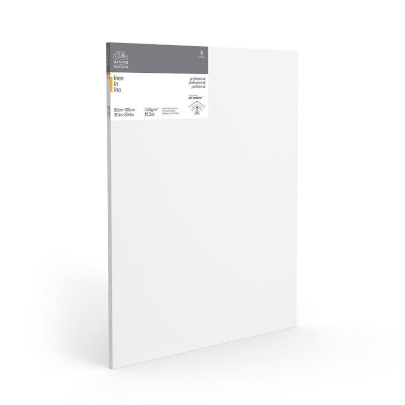 Duk uppspänd W&N Linne 80x100x2,1cm  (5F)