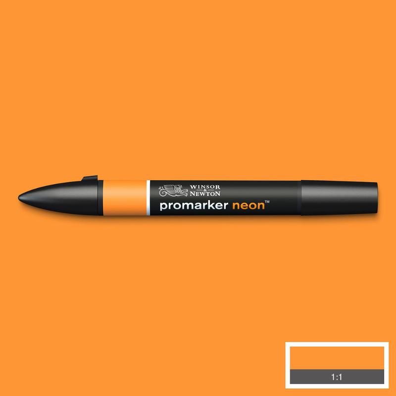 Promarker Winsor & Newton neon radiant orange