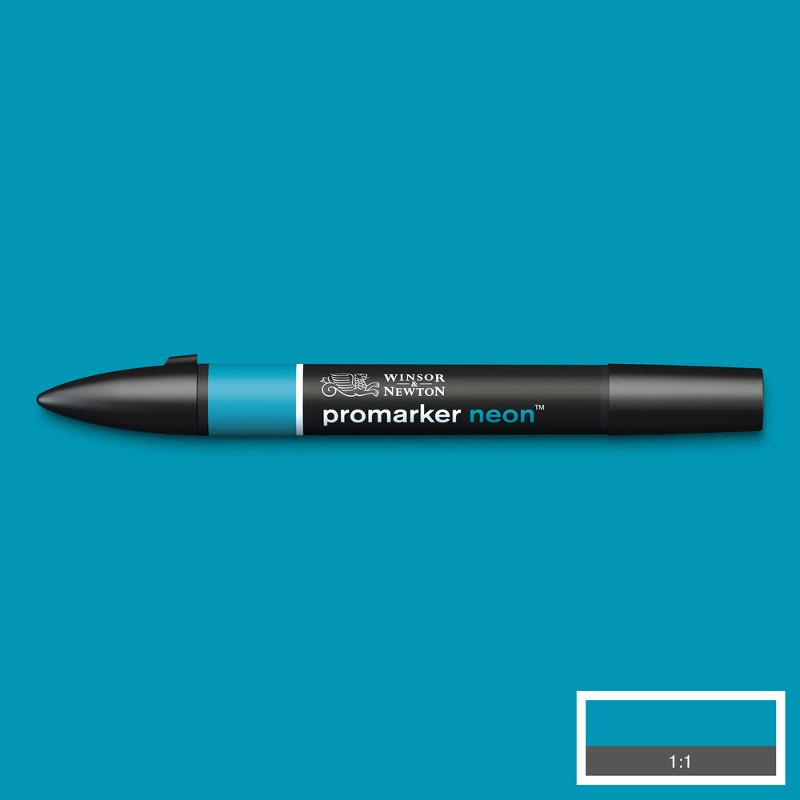Promarker Winsor & Newton neon volt blue