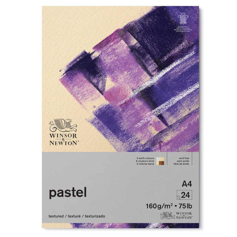 Pastellblock Winsor & Newton Earth 160g A4 (6F)