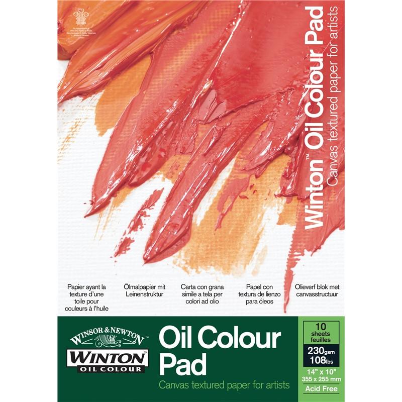 Oljemålningsblock Winton A3 10 ark 230g (3F)